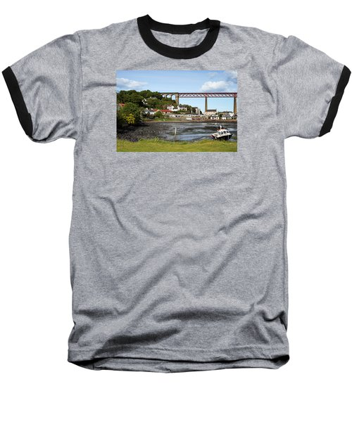 Baseball T-Shirt featuring the photograph North Queensferry by Jeremy Lavender Photography