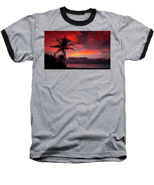 Oceanfront Sunrise Baseball T-Shirt