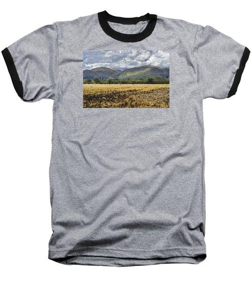 Ochil Hills Baseball T-Shirt by Jeremy Lavender Photography