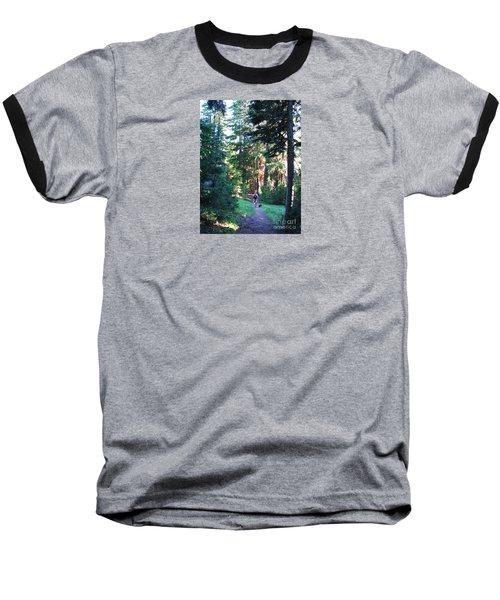 On A Hike Baseball T-Shirt