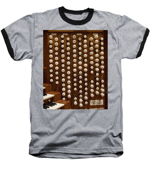 Organ Stops Baseball T-Shirt