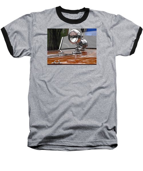 1050's Outboard Runabout Baseball T-Shirt