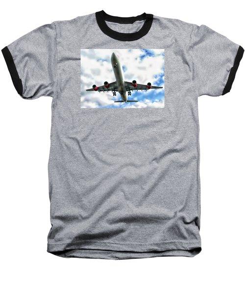 Passenger Plane Baseball T-Shirt