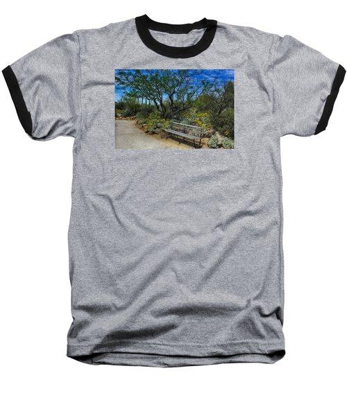 Peaceful Moment Baseball T-Shirt by Elaine Malott