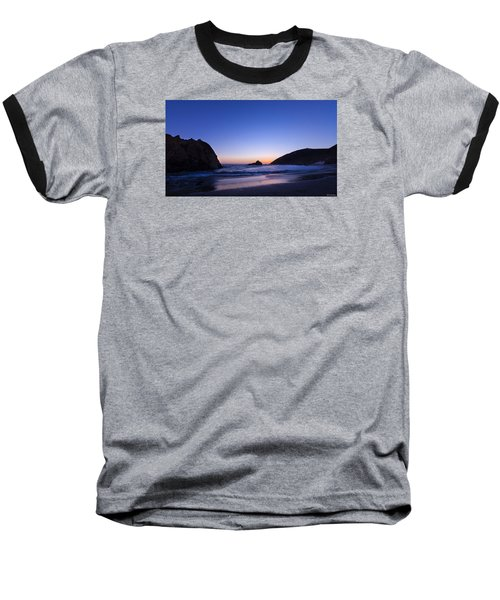 Pfeiffer Beach Baseball T-Shirt