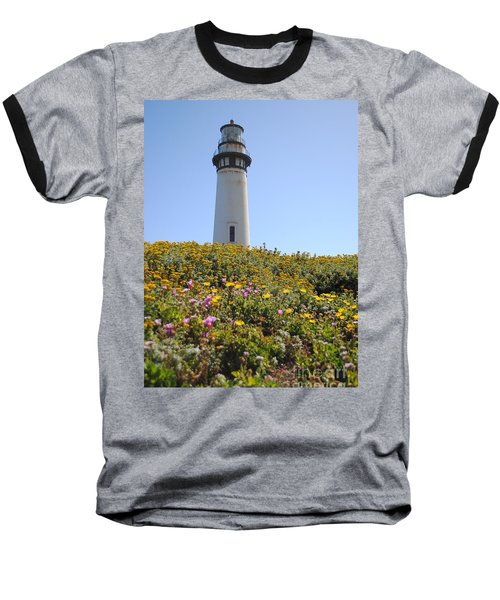 Pigeon Point Lighthouse Baseball T-Shirt