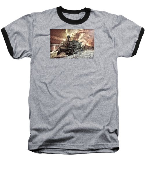 Polar Express. Durango, Colorado #1 Baseball T-Shirt