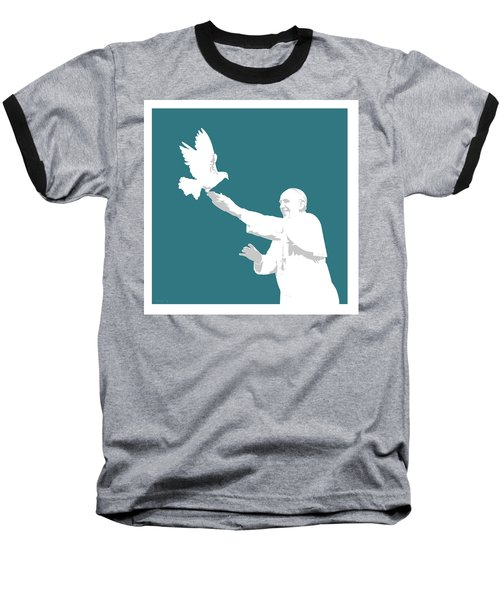 Pope Francis Baseball T-Shirt