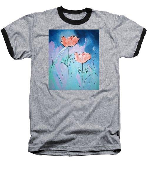 Poppies Baseball T-Shirt