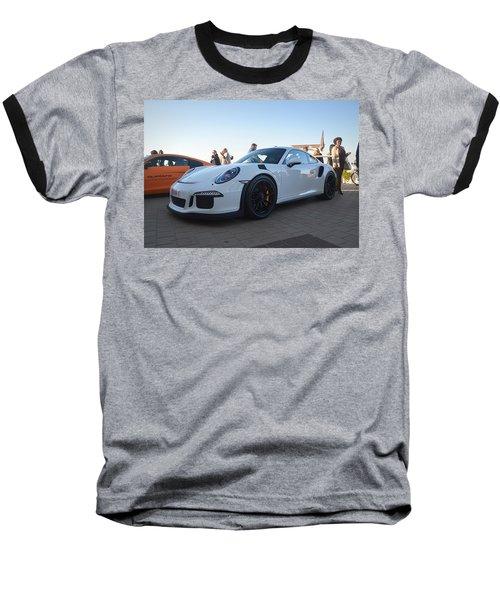 Porsche 911 Gt3rs Baseball T-Shirt