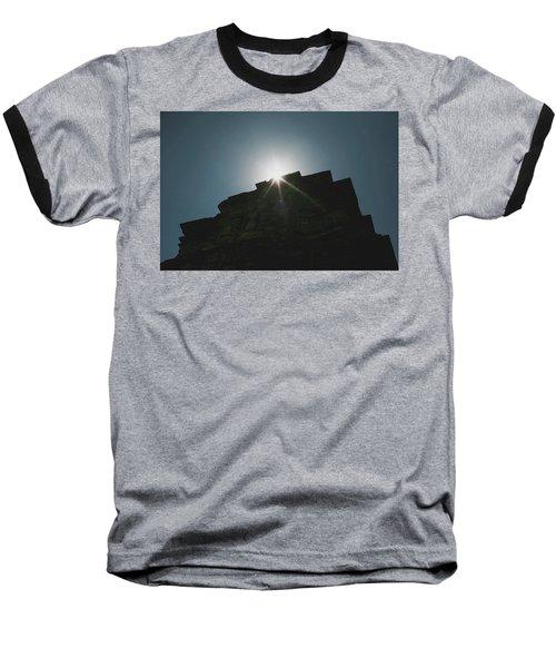 poshanu Tower Baseball T-Shirt