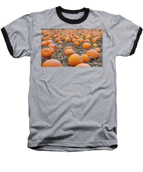 Pumpkin Patch Baseball T-Shirt