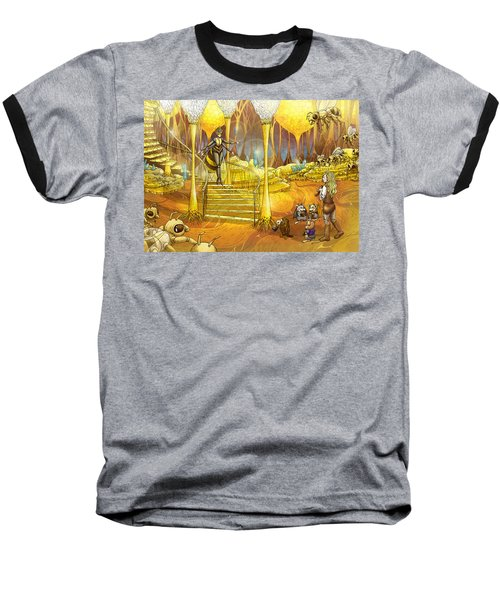 Queen Of The Hive Baseball T-Shirt