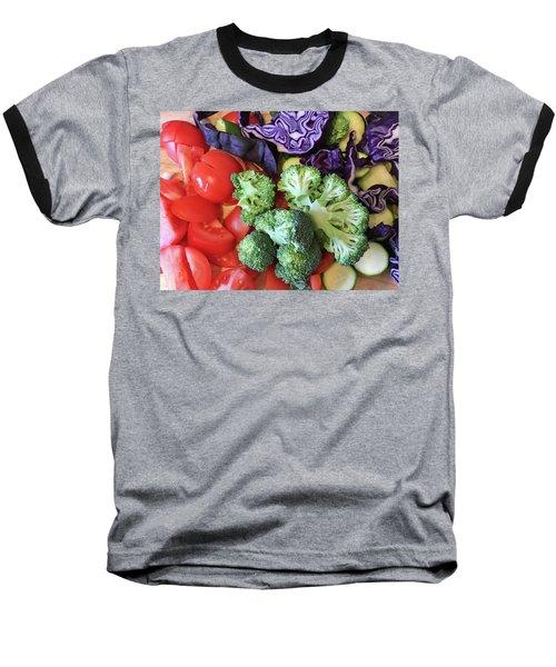 Raw Ingredients Baseball T-Shirt