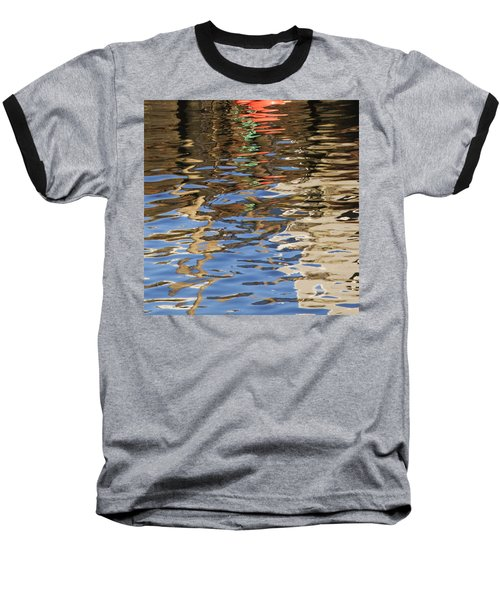 Reflections Baseball T-Shirt by Charles Harden