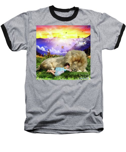 Baseball T-Shirt featuring the digital art Rest  by Dolores Develde