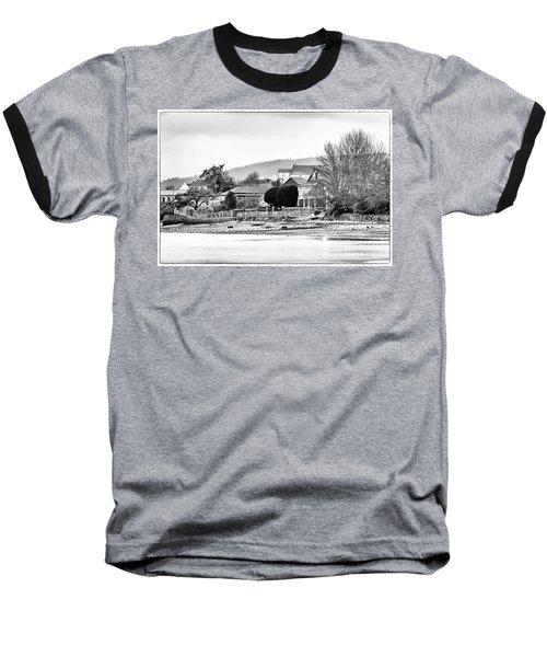 Baseball T-Shirt featuring the photograph Ribera Maninos Fene Galicia Spain by Pablo Avanzini