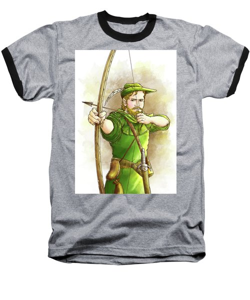 Robin Hood The Legend Baseball T-Shirt