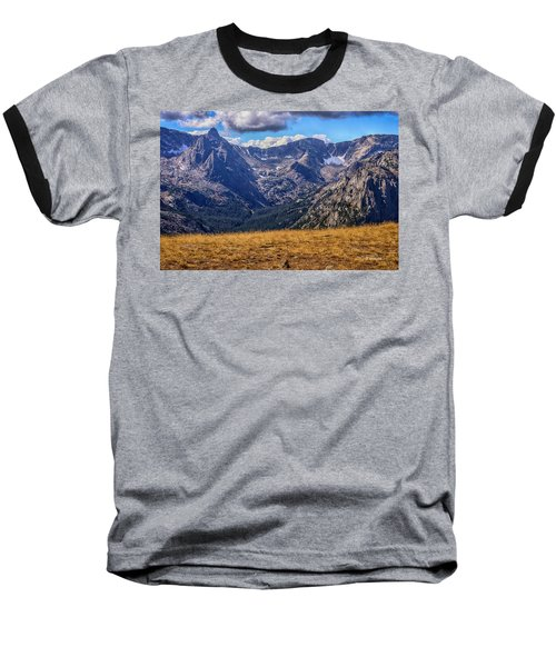 Rocky Mountain National Park Colorado Baseball T-Shirt