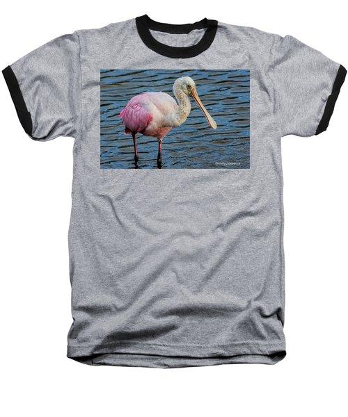 Roseate Spoonbill 1 Baseball T-Shirt