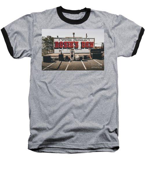 Rosies Den Cafe  Baseball T-Shirt