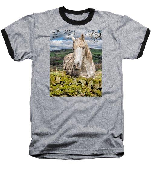 Rustic Horse Baseball T-Shirt