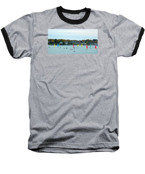 Baseball T-Shirt featuring the photograph Sailing by Raymond Earley
