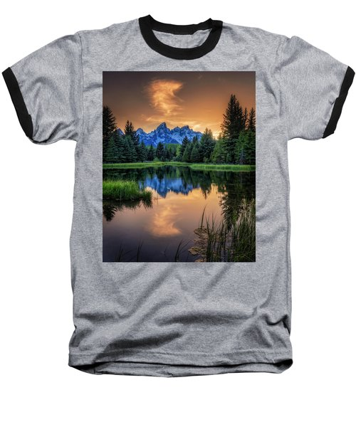 Schwabacher's Ghost Baseball T-Shirt