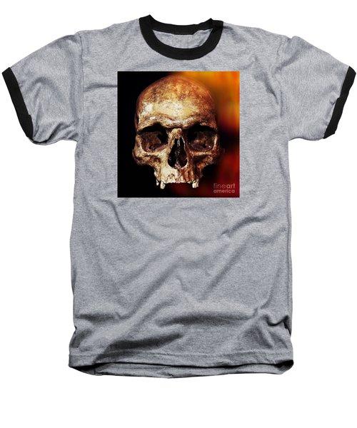 Skull Baseball T-Shirt
