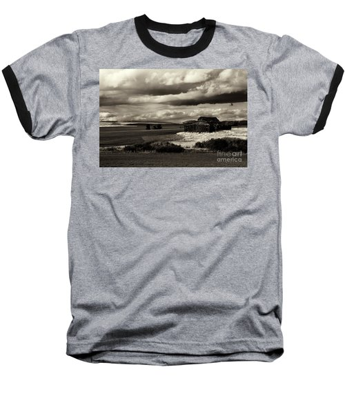 Baseball T-Shirt featuring the photograph Seen Better Days by Mike Dawson
