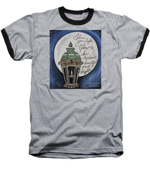 Shine Your Light Baseball T-Shirt