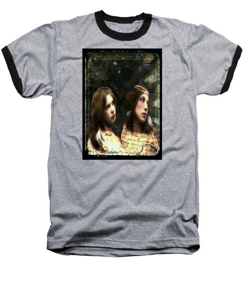 Two Sisters Baseball T-Shirt