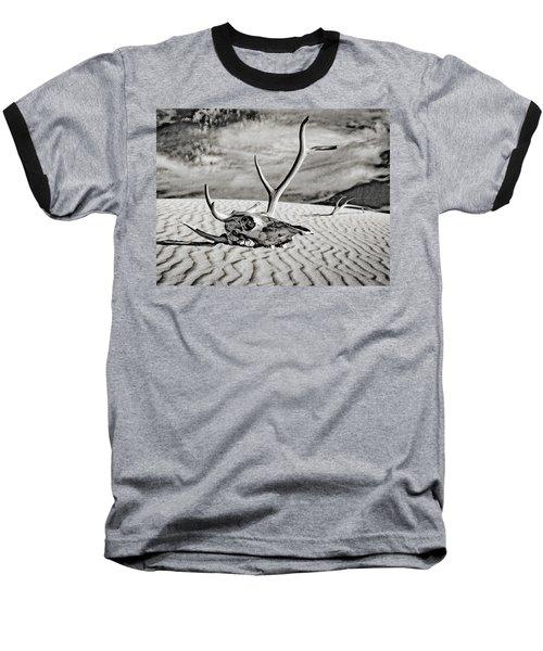 Skull And Antlers Baseball T-Shirt