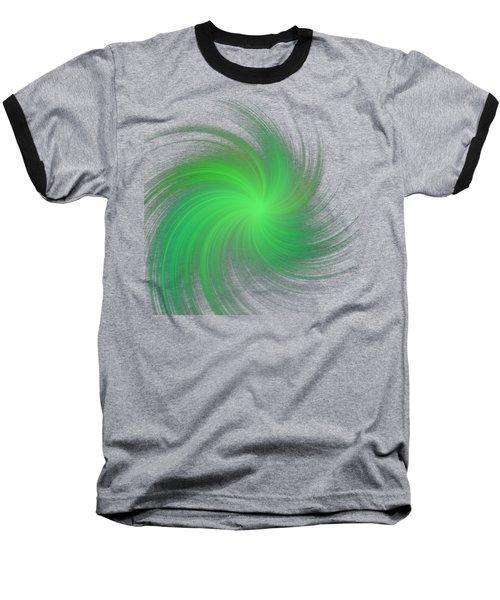 Spiral Baseball T-Shirt by Michal Boubin