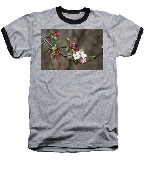 Baseball T-Shirt featuring the photograph Blossom And Hope by Vadim Levin
