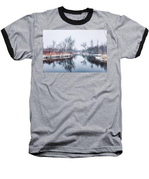 Spring Snow Baseball T-Shirt