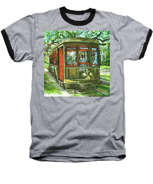 Baseball T-Shirt featuring the painting St. Charles No. 904 by Dianne Parks
