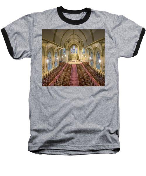 St. Francis Xavier Cathedral Baseball T-Shirt