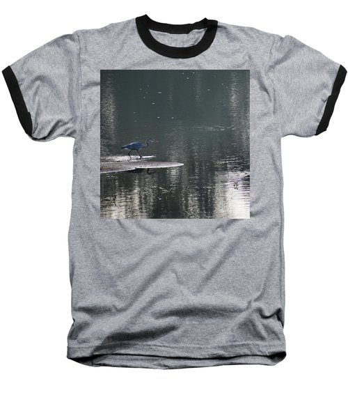 Baseball T-Shirt featuring the photograph Stalker  by Skip Willits