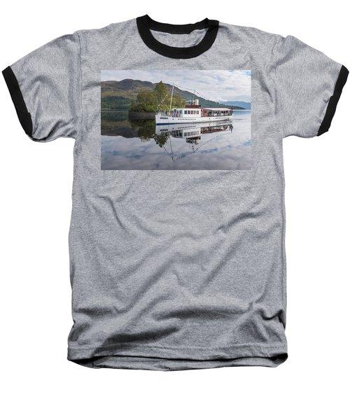 Steamship Sir Walter Scott On Loch Katrine Baseball T-Shirt