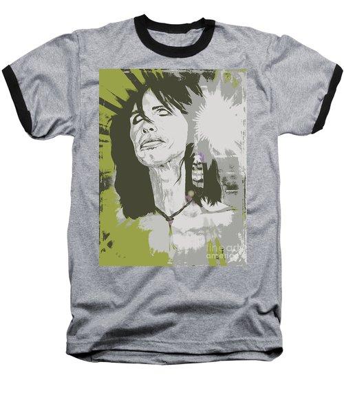 Steven Tyler  Baseball T-Shirt by Jeepee Aero