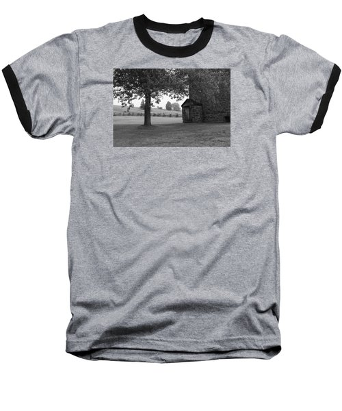 Stone House Baseball T-Shirt by Heidi Poulin