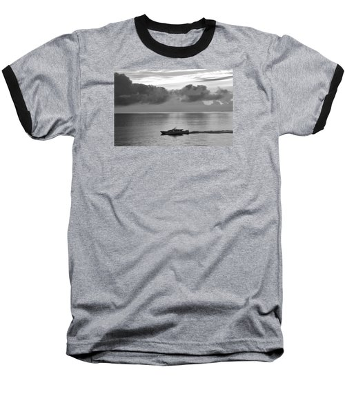 Baseball T-Shirt featuring the photograph Storm Coming by Helen Haw