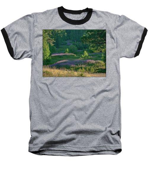 Summer Time Baseball T-Shirt by Vladimir Kholostykh