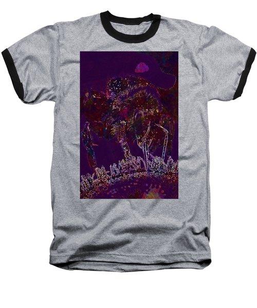 Baseball T-Shirt featuring the digital art Sun Flower Hummel Insect Summer  by PixBreak Art