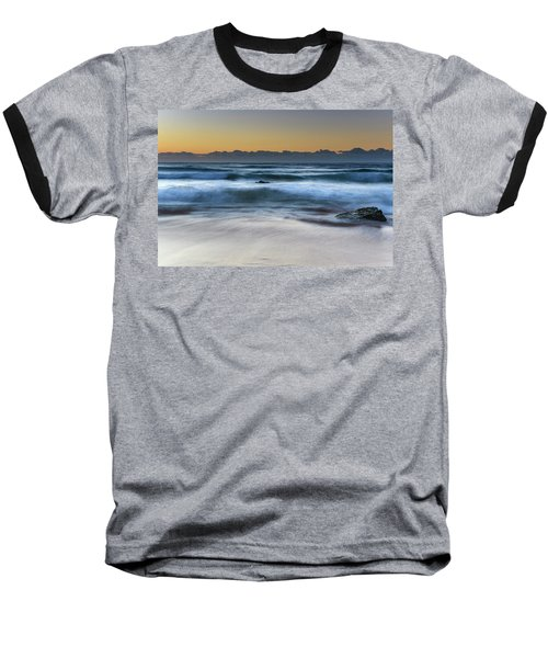 Sunrise By The Sea Baseball T-Shirt