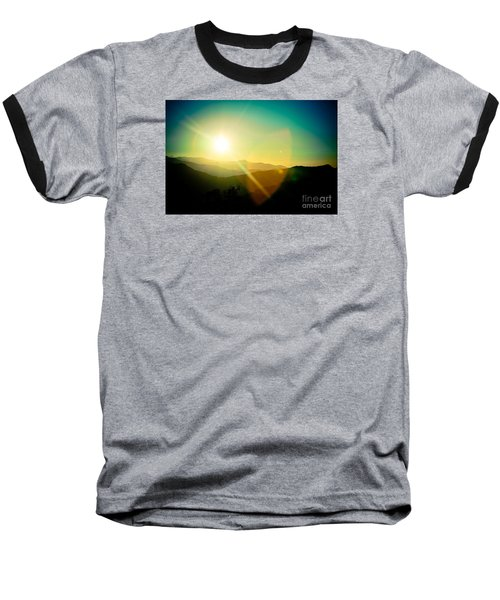 Sunrise In Himalayas Artmif Photo Raimond Klavins Baseball T-Shirt