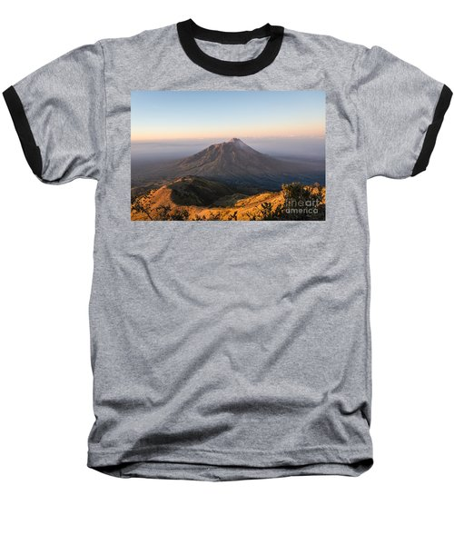 Sunrise Over Java In Indonesia Baseball T-Shirt
