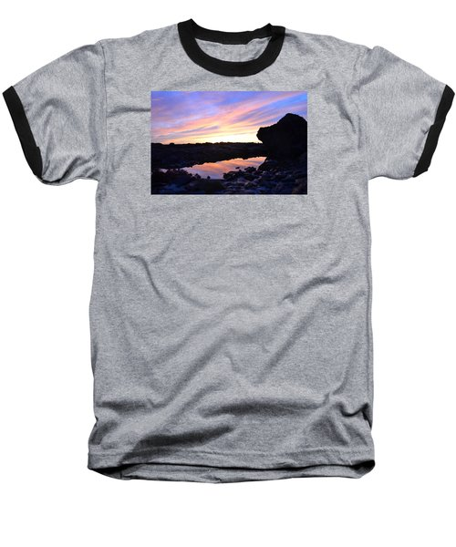 Baseball T-Shirt featuring the photograph Sunset by Alex King