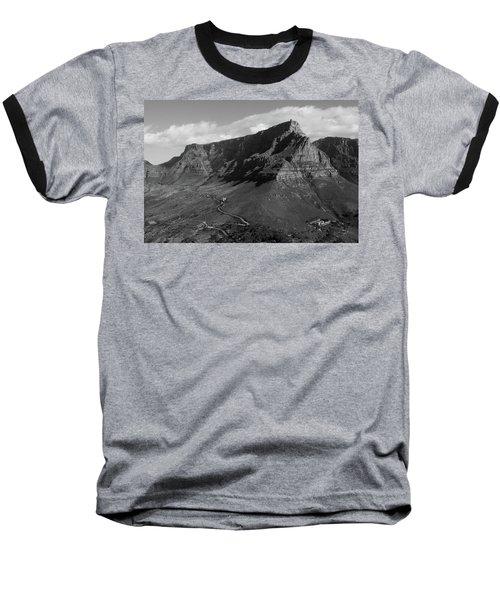 Table Mountain - Cape Town Baseball T-Shirt